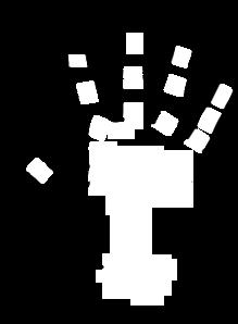 Blank Hand Clip Art - Hand Clipart