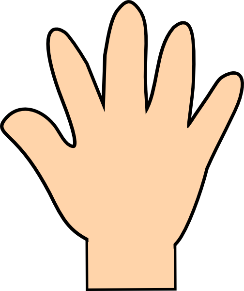 Download this image as: - Hand Clipart