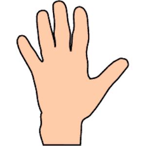 Hands hand clipart kid