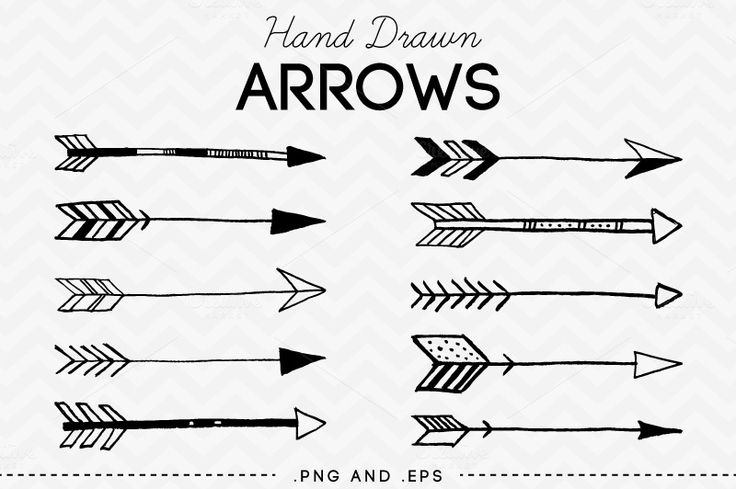 Hand Drawn Arrows Clip Art Vector-Hand Drawn Arrows Clip Art Vector-11
