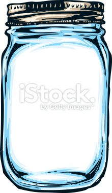 Hand Drawn Mason Jar Stock Vector Art 20883383 Istock More