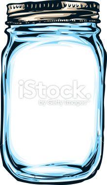 Hand Drawn Mason Jar Stock Vector Art 20883383 Istock More