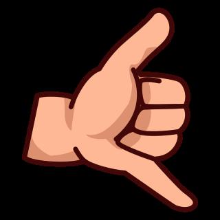 Hand Emoji Clipart-Clipartlook.com-320