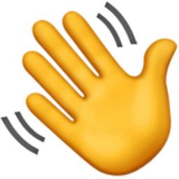 Emoji Information Waving Hand-Emoji Information Waving Hand-7