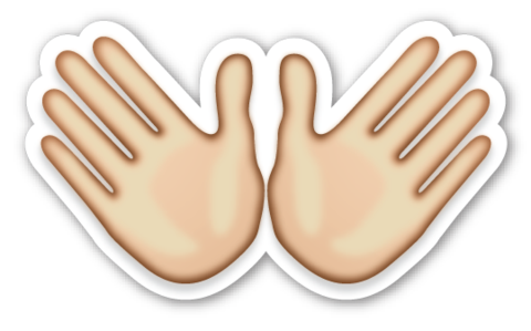 Hand Emoji PNG Photos