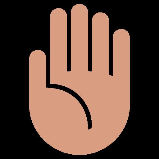 Raised Hand Emoji-Raised Hand Emoji-16