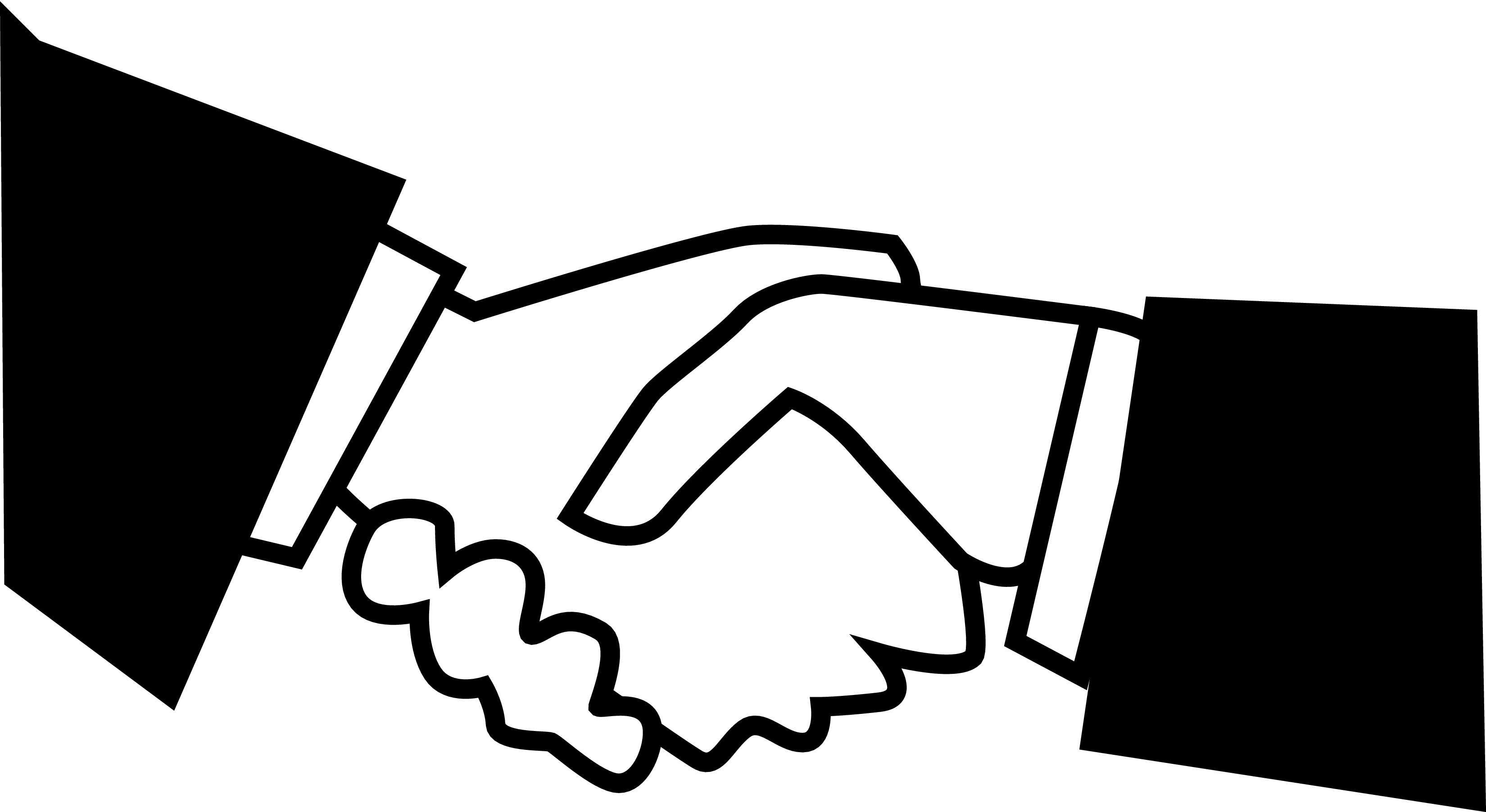 Hand Shake Clip Art - Clipart library