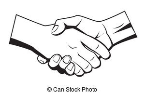 hand shake Stock Illustrationby ...