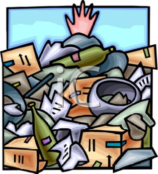 Hand Sticking Out Of A Pile Of Garbage I-Hand Sticking Out Of A Pile Of Garbage In A Dump Royalty Free Clip-7