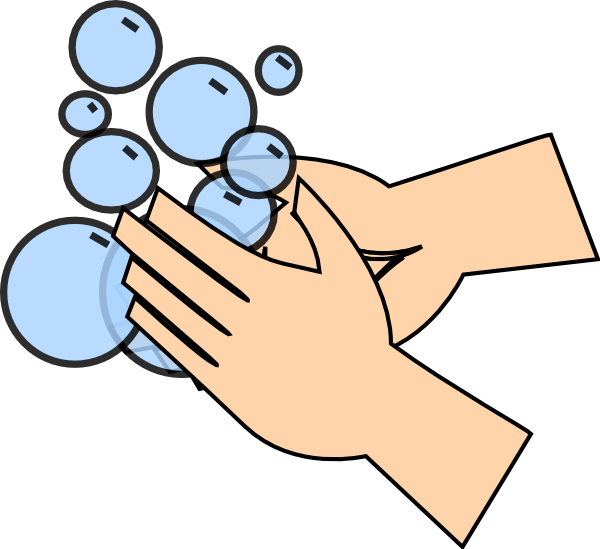 Hand Washing Clip Art At Clke - Washing Hands Clip Art