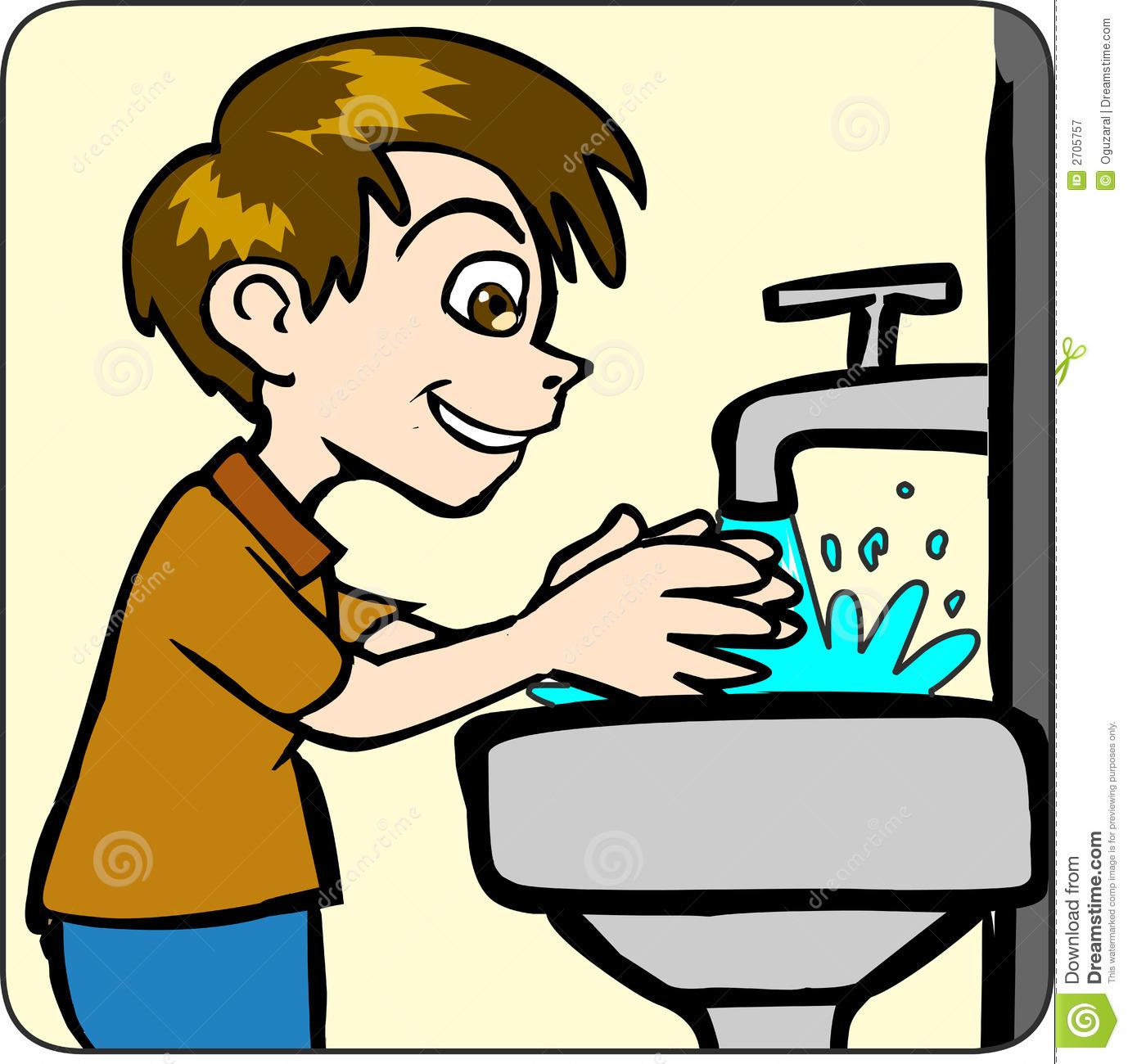 Hand Washing Clipart-hand washing clipart-7