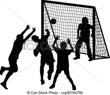 handball player - Handball Clipart