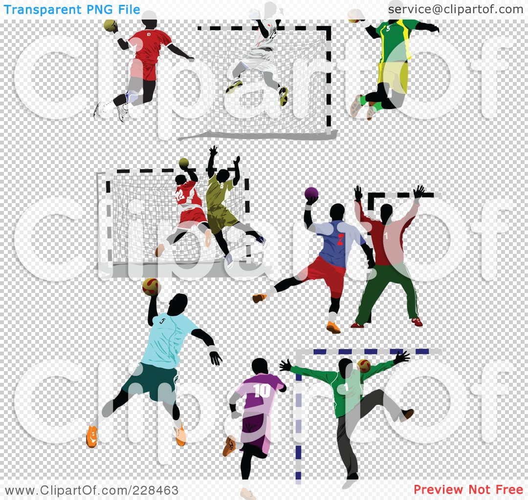 PNG file has a ClipartLook.co - Handball Clipart