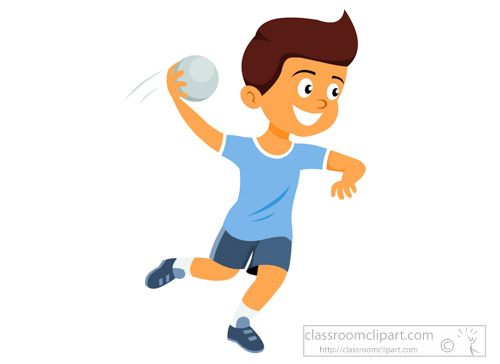 Handball Player - csp43563217