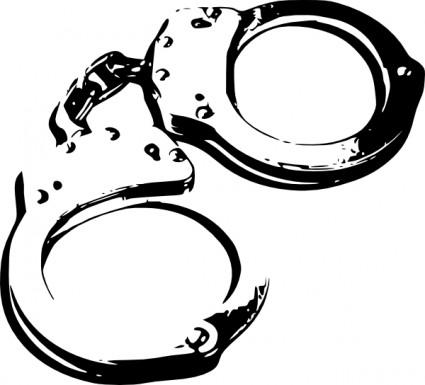 Handcuffs Clip Art Free Vector In Open O-Handcuffs clip art free vector in open office drawing svg-10