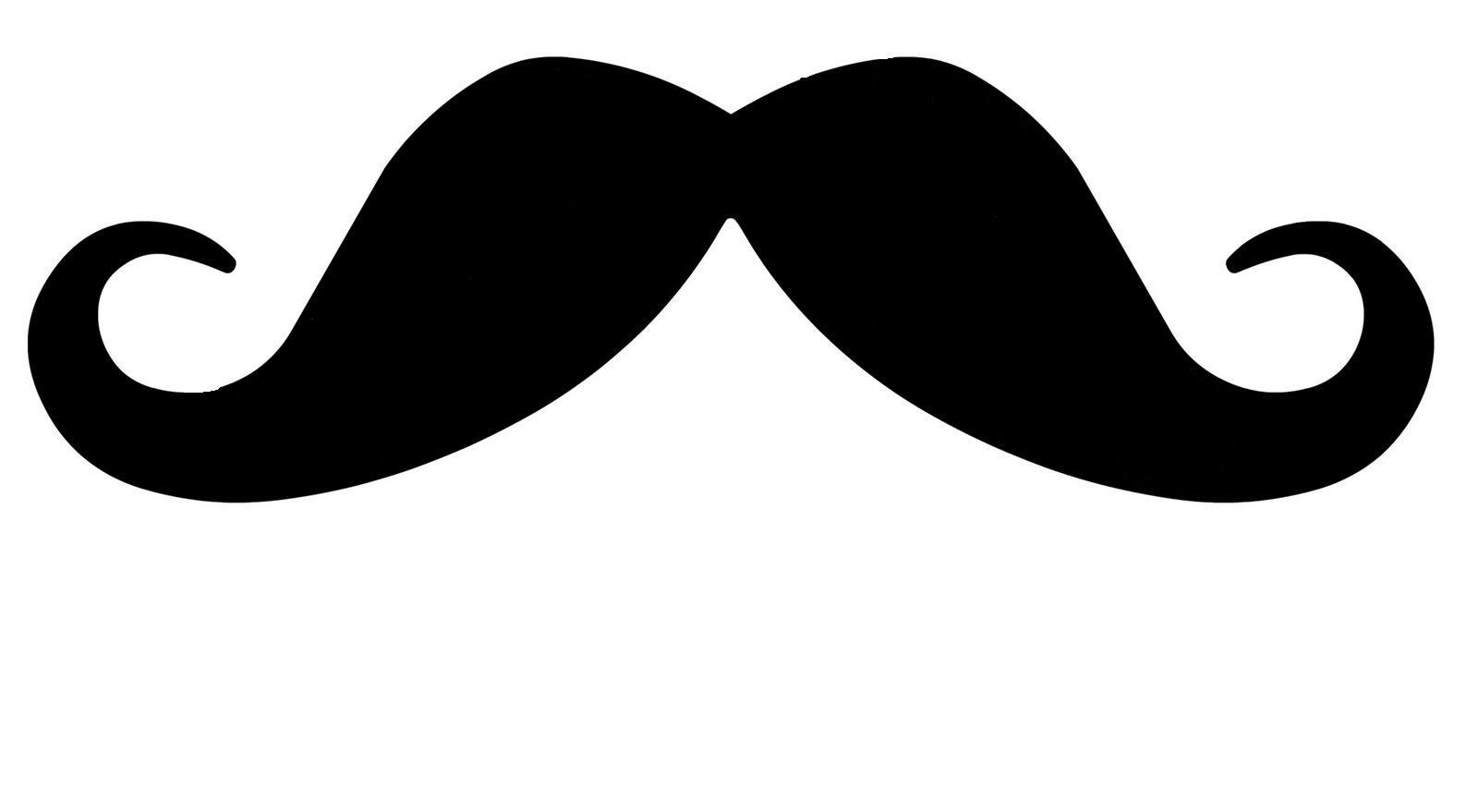 Handlebar Mustache Clip Art Moustache Outline Clipart