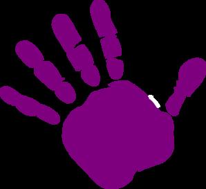 Handprint Outline Clipart-handprint outline clipart-8