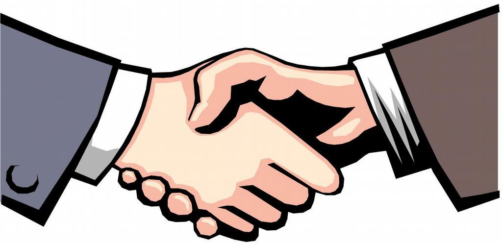 handshake clipart .