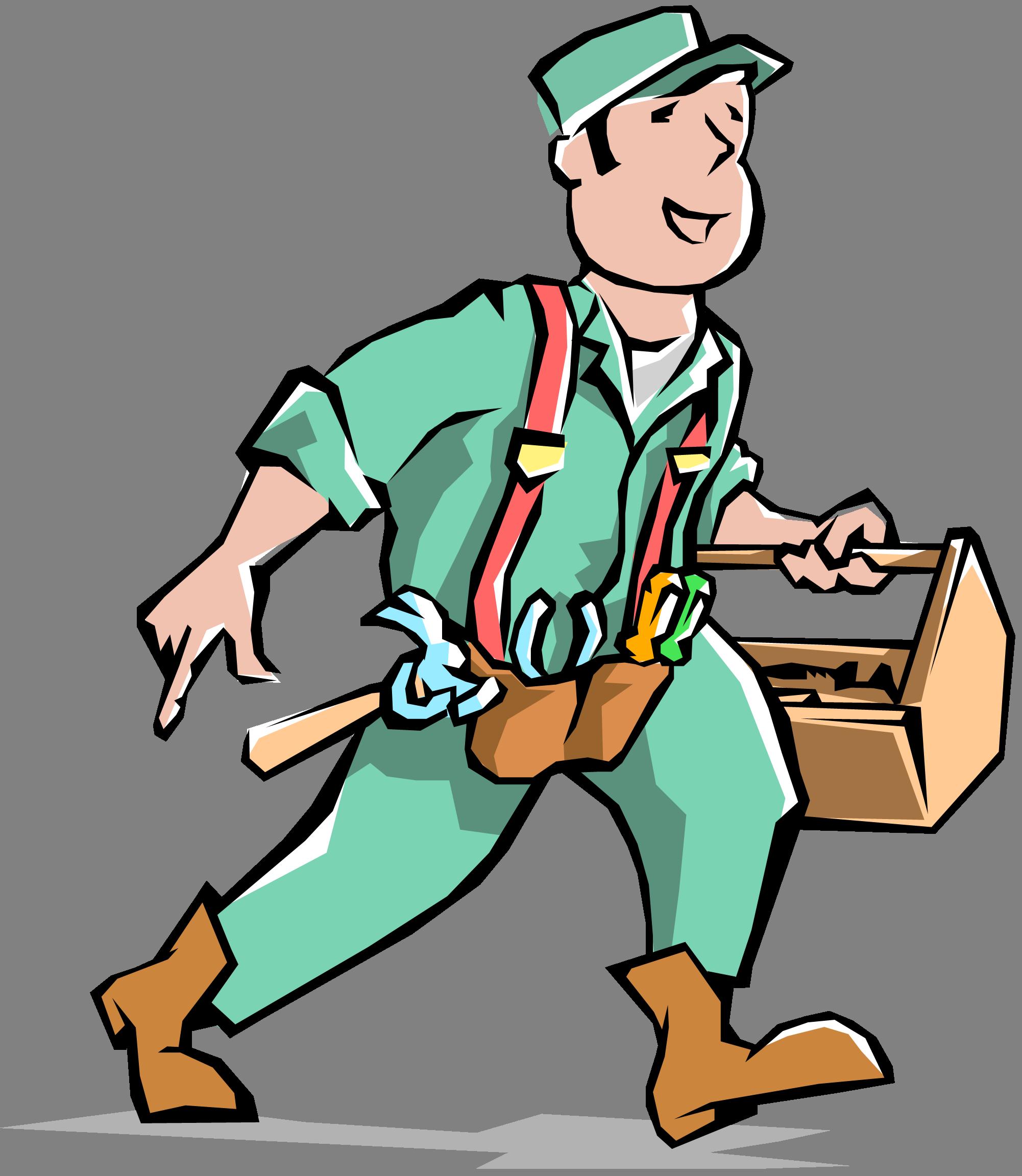 Handyman clipart handy man clipartall