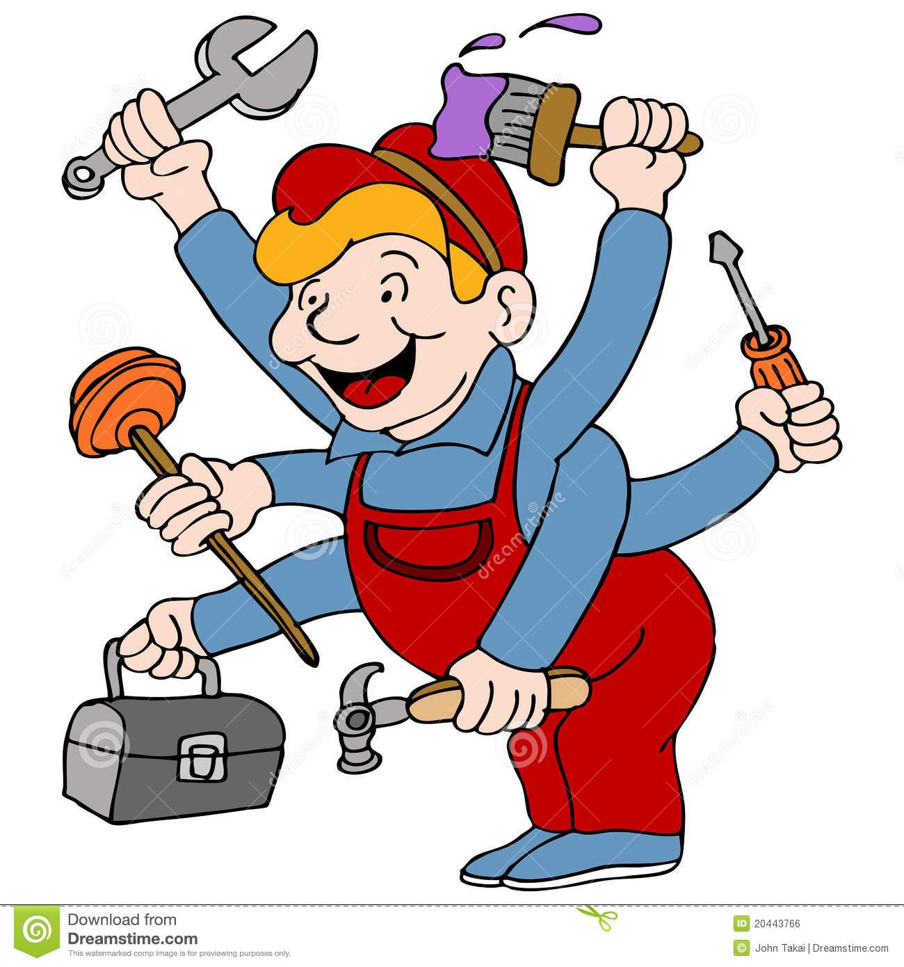 Handyman Royalty Free Stock Image-Handyman Royalty Free Stock Image-7