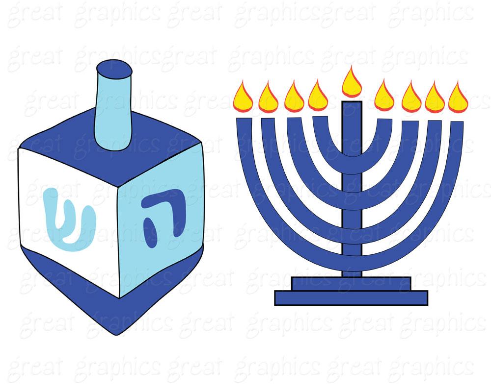 Hanukkah Clipart-Hanukkah clipart-6