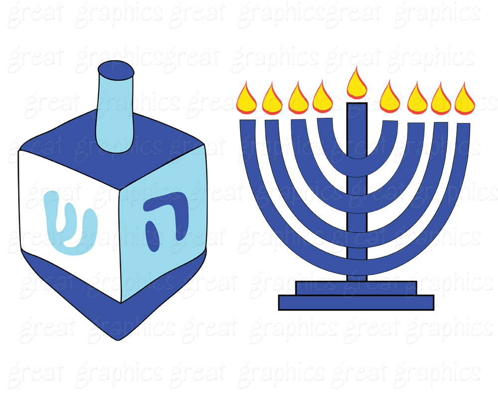 Hanukkah Clipart-Hanukkah clipart-2