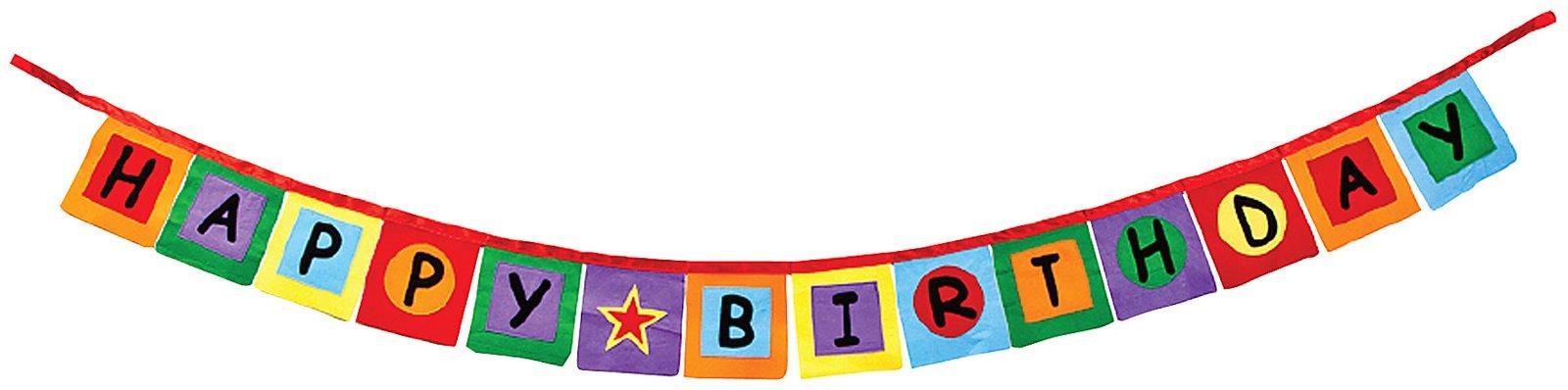 Happy Birthday Banner Clipart-happy birthday banner clipart-11