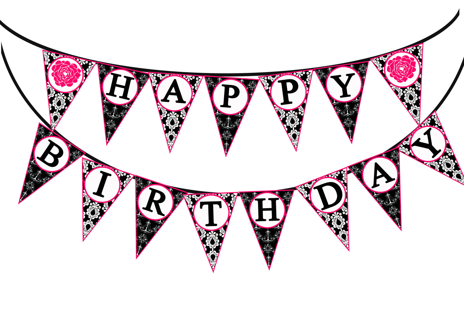 happy birthday banner clipart