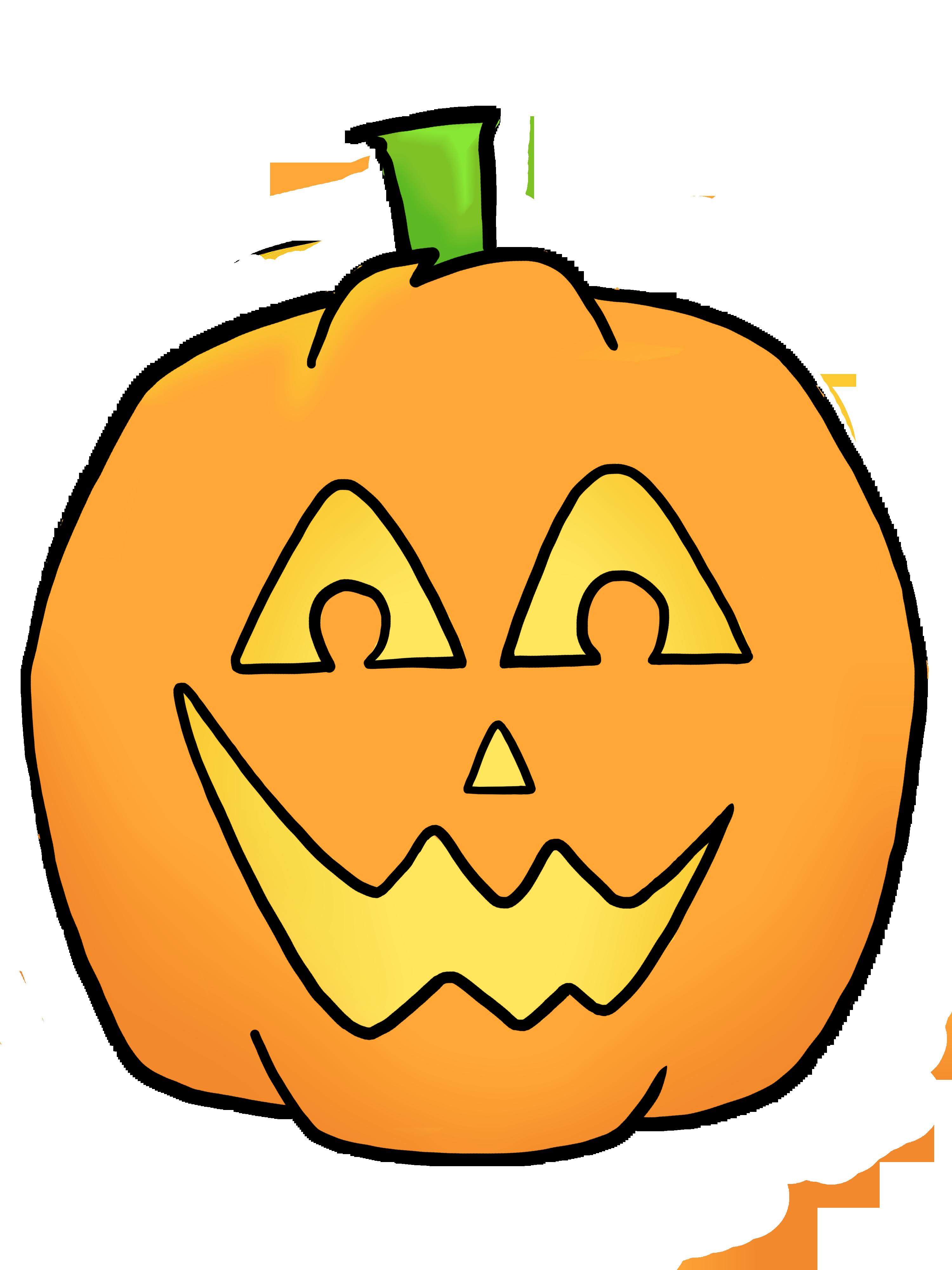 Happy Jack O Lantern Clipart-happy jack o lantern clipart-8