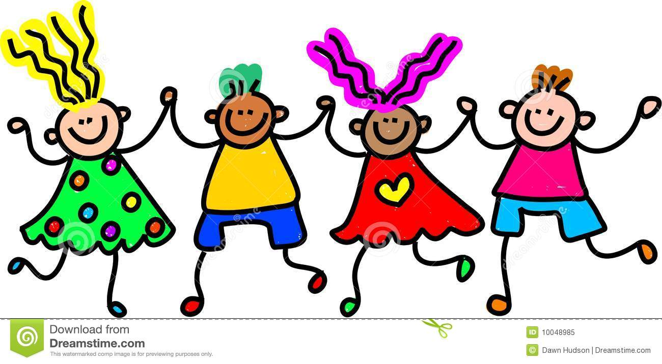 happy kid clipart - Happy Children Clipart