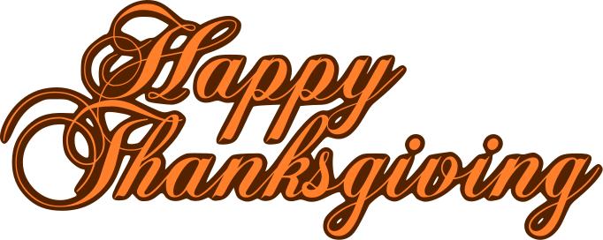 Happy Thanksgiving Turkey Clipart Black -happy thanksgiving turkey clipart black and white-5