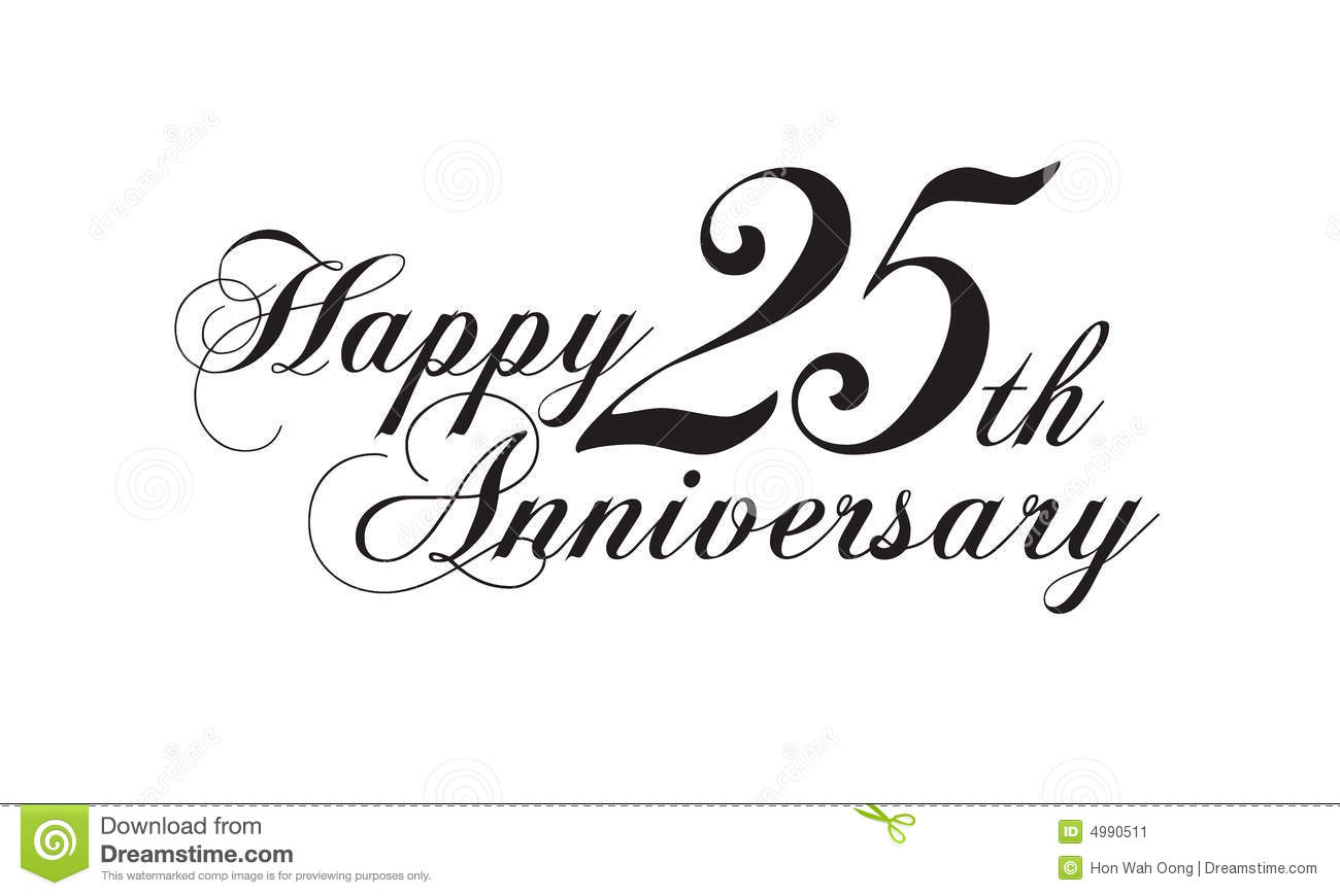 Happy 25th Anniversary Clipart #1-Happy 25th Anniversary Clipart #1-16