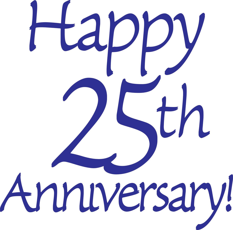 Happy 25th Wedding Anniversary Clip Art -Happy 25th Wedding Anniversary Clip Art Happy 25th anniversary cards ...-18