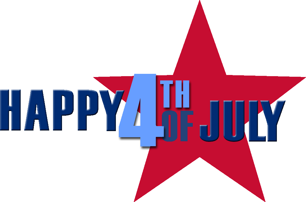 Happy 4th of july clipart kid