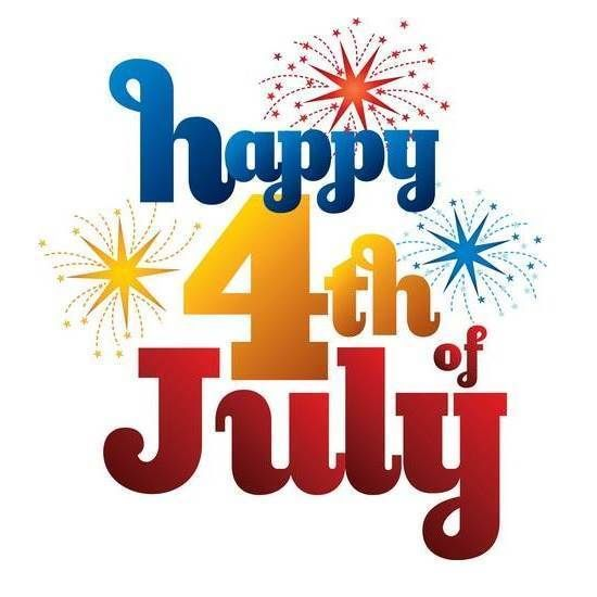 Happy 4th of July! - Fourth Of July Clipart
