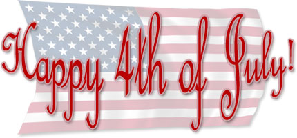 Happy 4th Of July On American Flag-Happy 4th of July on American Flag-18