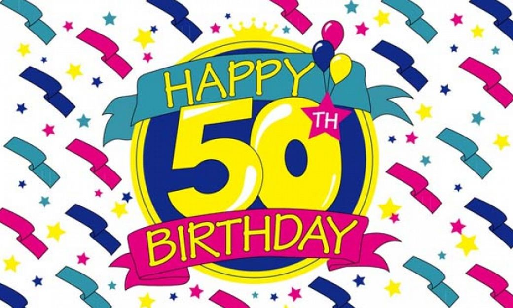 Happy 50th Birthday Clip Art Clipart Best