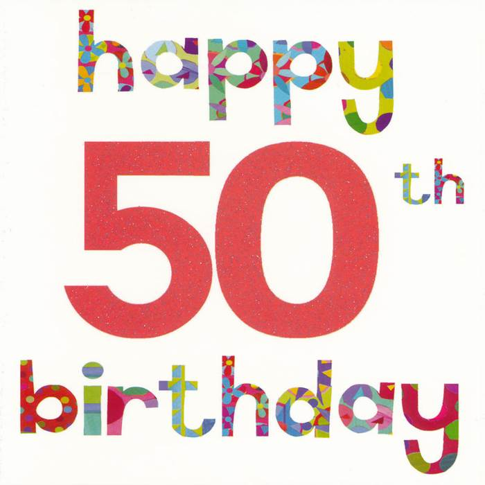 Happy 50th Birthday Clip Art Free Reference Images