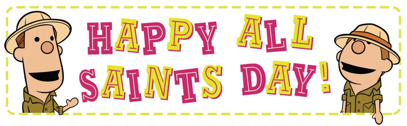 Happy All Saints Day Clipart Header Imag-Happy All Saints Day Clipart Header Image-19