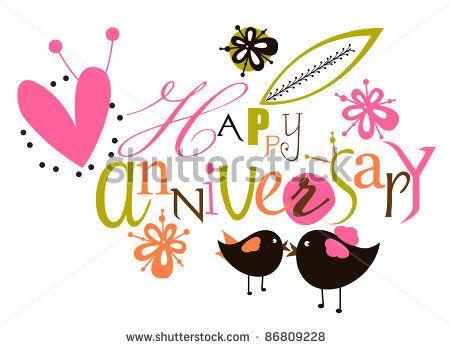 Happy Anniversary Clip Art Gif