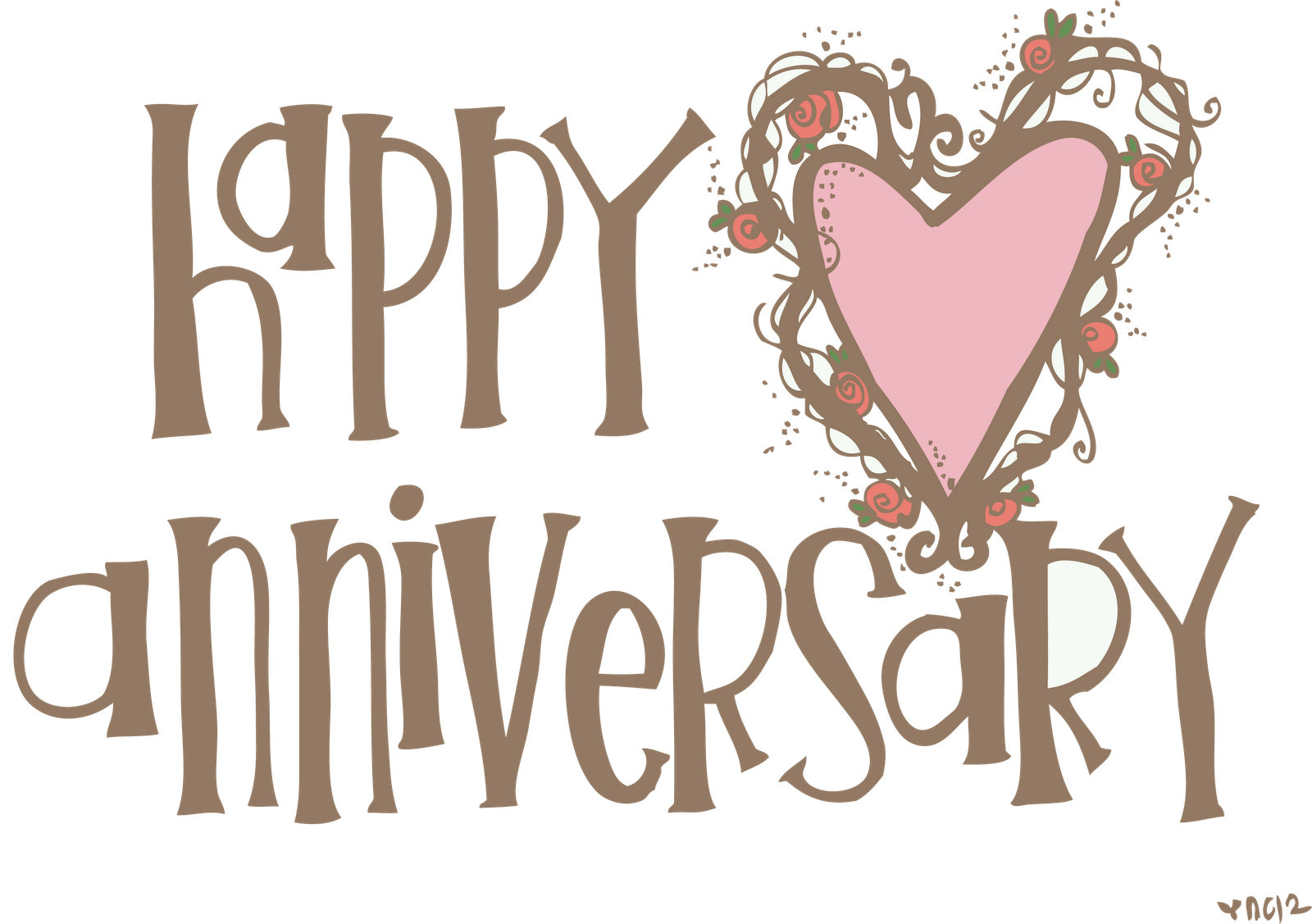 Happy anniversary download wedding anniversary clip art free
