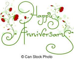 ... Happy Anniversary Text - Text Featur-... Happy Anniversary Text - Text Featuring the Words Happy.-17