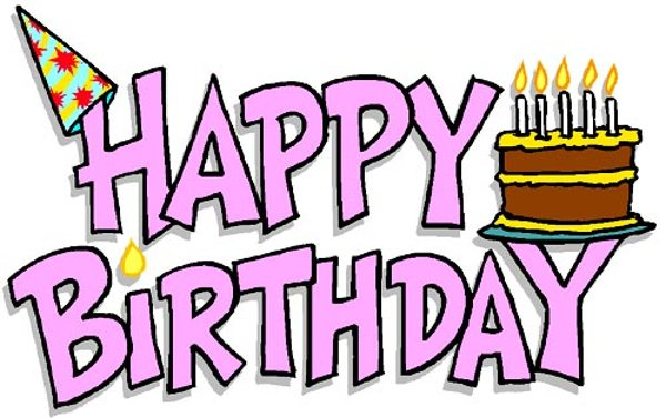 ... Happy Belated Birthday Clip Art - clipartall ...