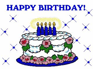 Happy Birthday Animated Clip Art | ... Animated clip art is classified into  categories