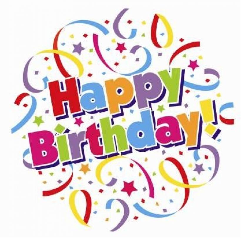 Happy birthday art clips - Cl - Happy Birthday Clip Art