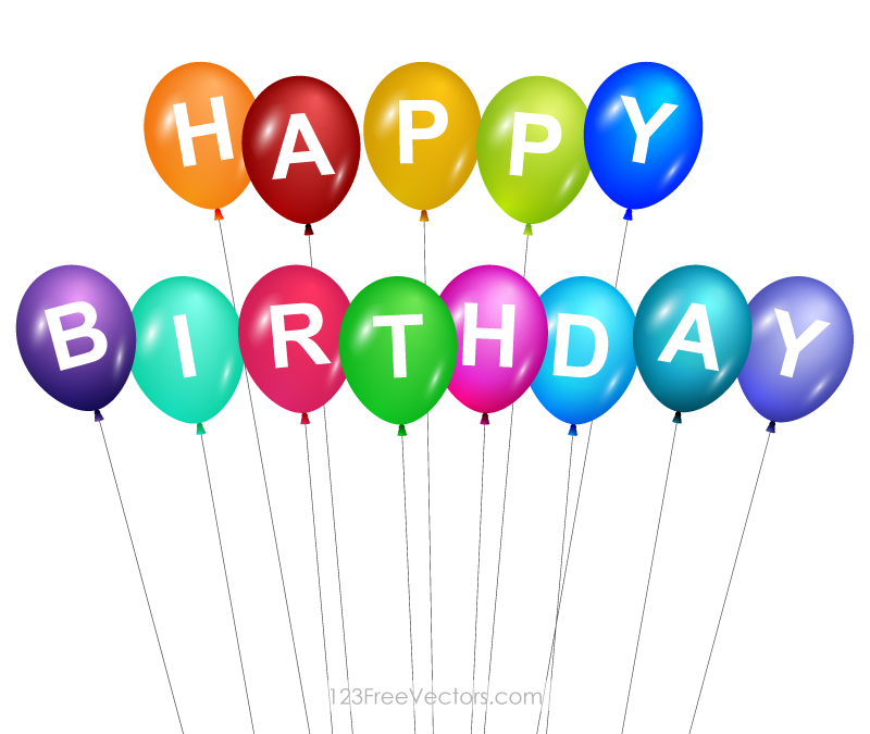 Happy Birthday Balloons Clip Art-Happy Birthday Balloons Clip Art-16