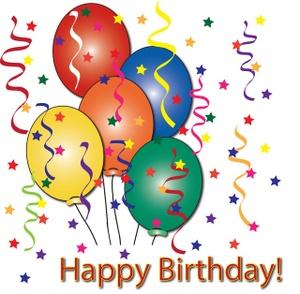 Happy birthday balloons clipa - Happy Birthday Balloons Clip Art
