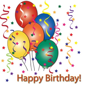 Happy birthday balloons clipart - Clipartix