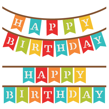 Happy Birthday Banners SVG .-Happy Birthday Banners SVG .-16
