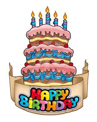 Happy Birthday Cake Clip Art Free-Happy Birthday Cake Clip Art Free-2
